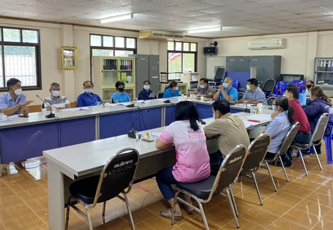 ประชุมกองทุนหลักประกันสุขภาพตำบลศิลาดาน