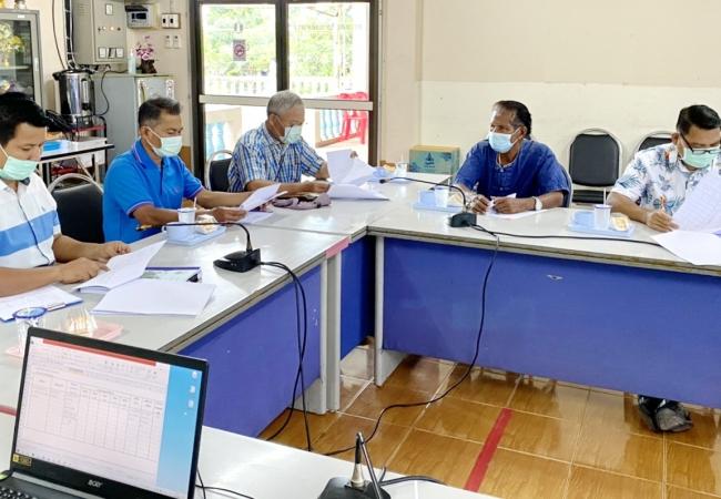 การประชุมคณะกรรมการสนับสนุนการจัดทำแผนพัฒนาเทศบาลตำบลศิลาดาน